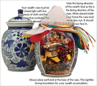 MAKE YOUR OWN WEALTH VASE ... FOR ABUNDANCE One of the ...
