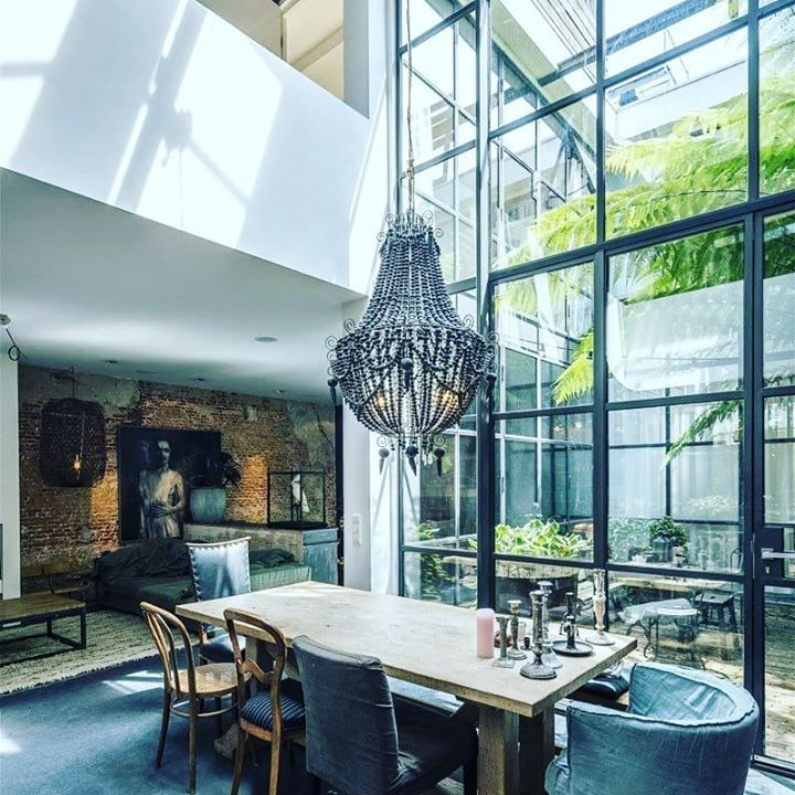 Industrial Style Living ... Good Feng Shui With So Much.